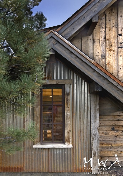 Mwa architecture lahontan 230 for Metal wood siding